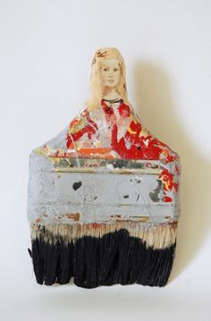 Painting brushes, Rebecca Szeto