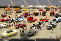 Brilliant Examples of Tilt-Shift Photography...looks like a tiny Car show