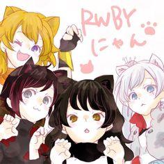 nagisa @nagi7mayn_cos  猫耳と言えばブレイク!! みんなで猫耳!! RWBYにゃん #RWBY_JP