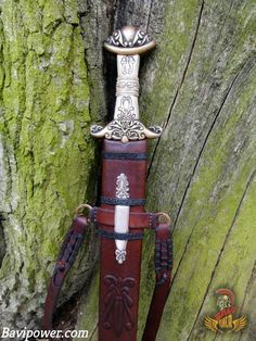 Viking Sword  Viking sword was the most valued and respected weapon that the Vikings often desired to have one in their life. The bitter truth was that not every Viking man could afford a sword because of its expense. Thereby, the swords became the Viking emblem of wealth, fame, and, generally, their status.  #viking #norse #celtic #warrior #bavipower #mythology #shieldmaiden #womenwarrior #weapon #sword