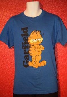 Odzież, Buty i Dodatki Garfield Comic Cat I DON'T DO ORDINARY Licensed Adult Heather T-Shirt All Sizes Koszule i koszulki