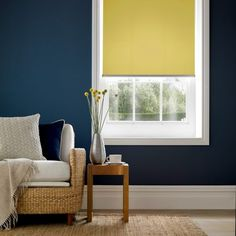 3a553acb3f7 Polaris Daffodil Yellow Roller Blinds - Made-to-Measure
