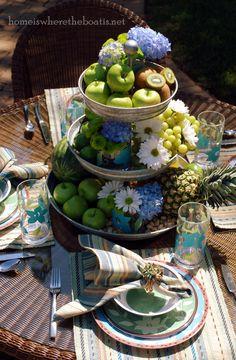 Fruit Of The Spirit Church Tea Table Theme Lovely Table