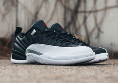 """6176fbf66a7  sneakers  news Where To Buy The Air Jordan 12 Low """"Playoffs"""" Air"""