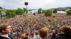 July 25, 2011. At least 100 000 join Oslo march for grief and unity