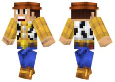 Minecraft Skins Disney, Minecraft Characters, All Minecraft, Mojang Minecraft, Sheriff Woody, Minecraft Drawings, Toy Story Movie, Red Vs Blue, Pocket Edition
