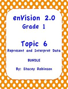 This is a bundle of all my enVision Math 2.0 Topic 6 products. It includes over 85 pages and slides of teaching aids for Topic 6. Included: I can statements, Lesson Plan, Task Cards for every lesson in Topic 6, Topic 6 Practice Pages for every lesson in Topic 6, Extra Tests for Topic 6, An ActivInspire flipchart for Topic 6, and a PDF version of the flipchart in case you do not use ActivInspire.