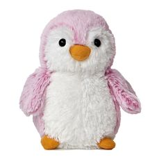 """6"""" POMPOM PENGUIN BRIGHTS - This penguin is super cute and features soft dual tone pink plush. Collect them all from this popular line by Aurora!"""