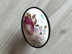 Ceramic Knobs / Cabinet Knobs / Porcelain Knob / Dresser  Pulls / Drawer Pull Handles Black White Flower Oval / Rustic Hardware-in Handles & Knobs from Home Improvement on Aliexpress.com | Alibaba Group