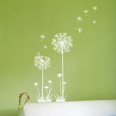 Dandelion Wall Sticker  Like this wall stickers? you may find this style in the amazon with best price in NZ go to your decal shop!