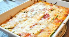 Zucchini Lasagna - Weight Watchers Recipes