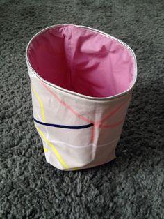 Corbeille tissu