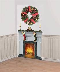 Our Cozy Christmas Scene Setter Is The Next Best Thing To A Real Fire And  Mantel