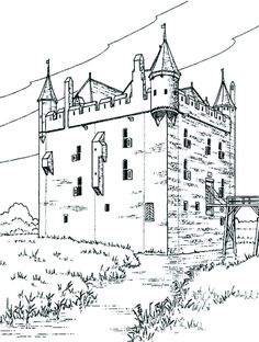 castles and knights color page coloring pages for kids fantasy and medieval coloring pages printable coloring pages color pages kids coloring - Medieval Coloring Pages Printable