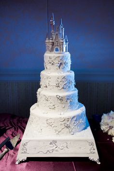 Happy Ever After cake #wedding #cake