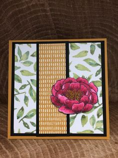 Pals Paper Crafting Card Ideas Flower Mary Fish Stampin Pretty StampinUp