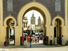 Bab Boujloud, The Blue Gate of Fes