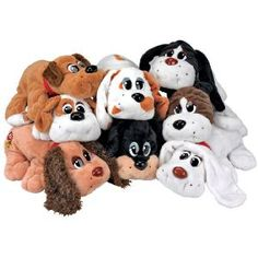 Pound Puppies  I know a 30-year-old man (you know who you are) who still sleeps with his.