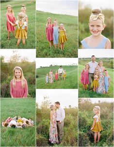 family photo outfits Sarasota Family Photography, Family session on a field, family photo inspiration, the celery fields, Spring Family Pictures, Family Pictures What To Wear, Summer Family Photos, Large Family Photos, Family Pics, Funny Family, Baby Family, Family Posing, Family Picture Colors