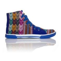 Blue Lagoon High Top Unisex, $60, now featured on Fab.