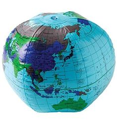 Inflatable globe atlas world map earth beach ball map earth beachaccessoriesstore us toy one inflatable earth globe vinyl beach ball 16 beachaccessoriesstore gumiabroncs Images