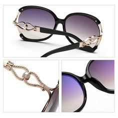 c9741850e0c0d Affordable Luxury Designer s Large Frame Women Sunglasses WDSG130