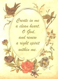 Jesus has created a clean heart in those who have accepted Him as their Lord and Savior. It is disrespectful to ask Him for something He gave His life for us to have.  [Psalm 51:10] Create in me a clean heart, O God, And renew a steadfast spirit within me.