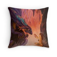 Dangerous Offering on a pillow! For sale on REDBUBBLE.COM