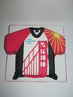 At The CakeWay, you are only going to get cakes that are delicious and home-made with the freshest wholesome ingredients available. Happy 40th, Novelty Cakes, Golden Gate, Helmets, Cycling, Homemade, Fun, Bicycling, Fin Fun