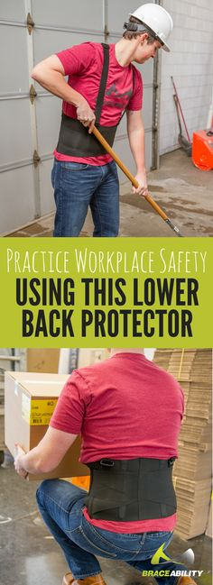 Back injuries account for 1 in every 5 injuries in the workplace. Save your back Severe Back Pain, Upper Back Pain, Lumbar Pain, Degenerative Disc Disease, Work Belt, Back Injury, Workplace Safety, Sprain, Back Pain Relief