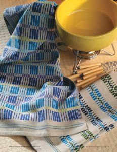 Need inspiration for your next set of handwoven towels?