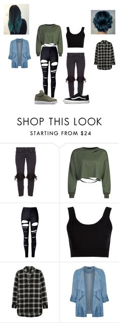 """Sisters look #1"" by kayltjevds05 on Polyvore featuring mode, OneTeaspoon, WithChic, Calvin Klein Collection, Madewell, Evans, Haze, Vans en plus size clothing"