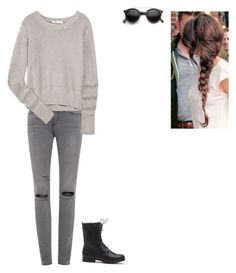 """Untitled #154"" by elenantakoy on Polyvore featuring Frame Denim, T By Alexander Wang, Retrò, women's clothing, women's fashion, women, female, woman, misses and juniors"