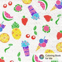 Ingekleurd met: #coloringbookforme