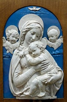 Madonna and Child - Simple English Wikipedia, the free encyclopedia Blessed Mother Mary, Blessed Virgin Mary, Catholic Art, Religious Art, Roman Catholic, Medieval Art, Renaissance Art, Sculpture Art, Sculptures
