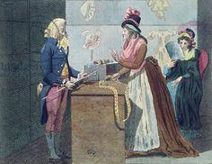 The man milliner (colour litho)