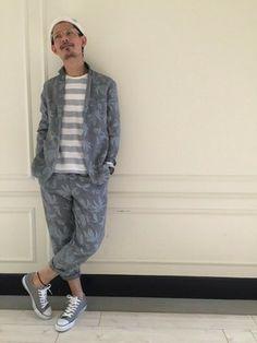 masachika│JUNRedのテーラードジャケットコーディネート