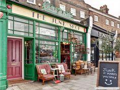 The Junk Shop, Greenwich, London