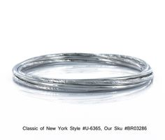 Classic of NY Sterling Silver Interlocking Bangle Bracelets U-6365 BR03286 $180 jewelry/ gifts/ | eBay http://www.ebay.com/itm/Classic-NY-Sterling-Silver-Interlocking-Bangle-Bracelets-U-6365-BR03286-/271077724739?pt=Handcrafted_Artisan_Jewelry=item3f1d7dd243