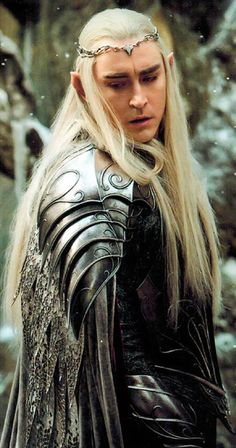 Lee Pace as Thranduil is exactly what I pictured for Tamlin, Lord of the Spring Court, in Sarah J Maas's A Court of Thorns and Roses