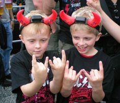 AC/DC Children Fans