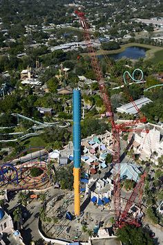 Orlando Florida thrill joyrides, theme park rides and info Busch Gardens Tampa Bay, Amusement Park Rides, Family Adventure, Vacation Places, Travel And Tourism, Orlando Florida, Animal Kingdom, North America, Tower