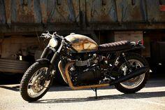 ♠Milchapitas-Kustom Bikes♠: Triumph Thurxton 2009 By CRD