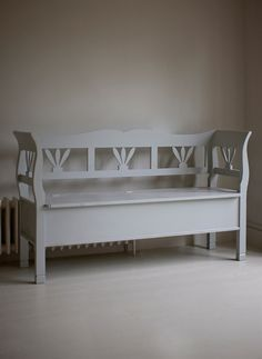 Large Hungarian Settle Storage Bench
