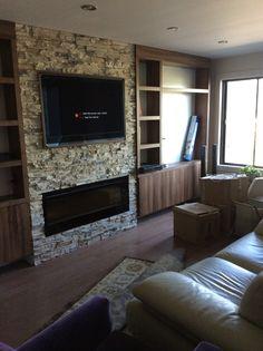 Meuble audio Flat Screen, Home Decor, Home Ideas, Blood Plasma, Homemade Home Decor, Interior Design, Home Interiors, Decoration Home, Home Decoration