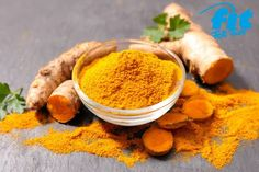 Turmeric contains curcumin. Curcumin is an active ingredient that has a powerful anti-inflammatory effect and is a strong antioxidant. Turmeric For Cancer, Turmeric Root, Organic Turmeric, Ayurveda, Natural Cancer Cures, Natural Cures, Herbal Treatment, Natural Treatments, Gastronomia