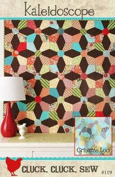 Kaleidoscope Quilt Pattern by Cluck. Cluck. Sew. $6.00, via Etsy.