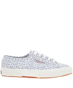 Superga X Liberty White 2750 Michael Print Sneakers | Women's Shoes | Liberty.co.uk