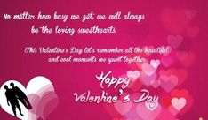 Valentine's Day QUOTATION - Image : Quotes about Valentine's Day - Description Valentine Love Messages for Husband, Valentine Wishes, Pictures for Husband Miles Away, Funny Valentine Gifts for Girlfriend Sharing is Caring - Hey can you Share this Quote Valentine Message For Husband, Valentines Card Message, Valentines Day Quotes For Wife, Love Messages For Husband, Happy Valentines Day Wishes, Funny Valentines Gifts, Valentine Gifts For Girlfriend, Messages For Her, Valentine's Day Quotes