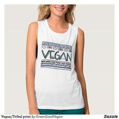 d5f09b848 Vegan/Tribal print Cute Tank Tops, Tribal Prints, Muscle Tank Tops, Trending